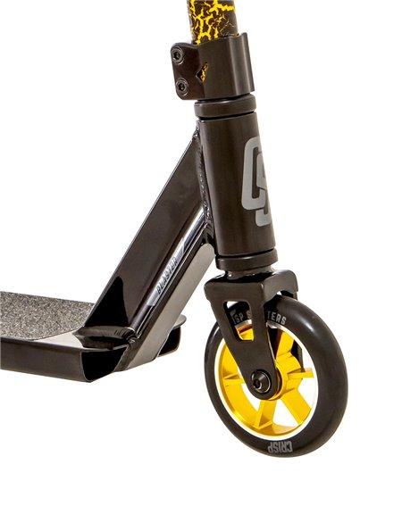 Crisp Blaster Stunt Scooter Black/Gold Cracking