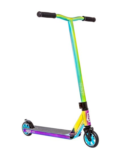 Crisp Surge Stunt Scooter Blue/Green/Purple