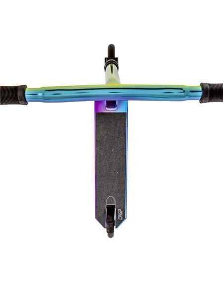 Crisp Surge Stunt Scooter Blue/Green/Purple