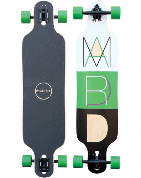 Madrid Longboard Cutout 2 Drop-Thru