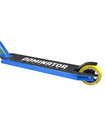 Dominator Ranger Stunt Scooter Yellow/Blue