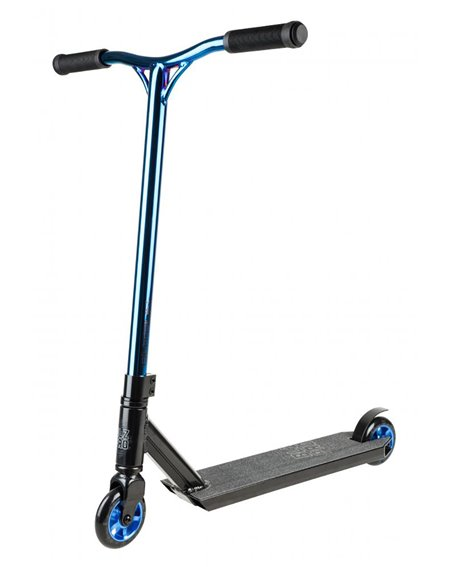 Blazer Pro Outrun FX Stunt Scooter Blue Chrome