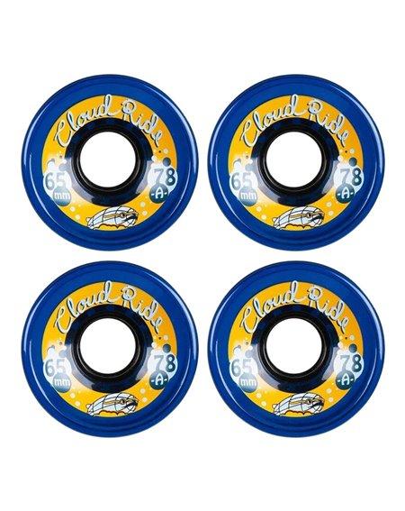 Cloud Ride Street 65mm Cruiser Wheels Midnight Blue
