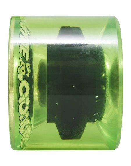 Cloud Ride Roues Longboard 69mm Translucent Neon Green