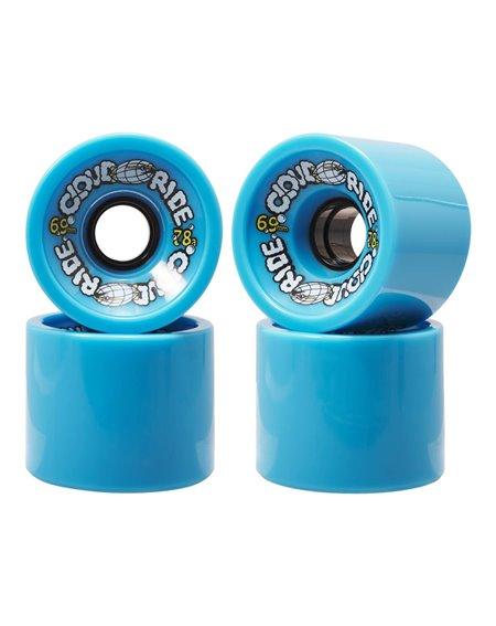 Cloud Ride 69mm Longboard Wheels Blue