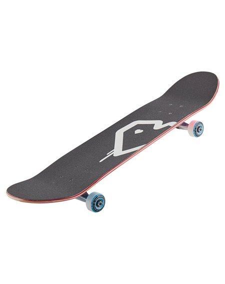 "Blueprint Spray Heart V2 7.75"" Complete Skateboard Blue/Pink"
