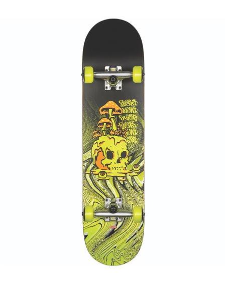 "Globe Skate Montado G1 Nature Walk 8.125"" Black/Toxic Yellow"