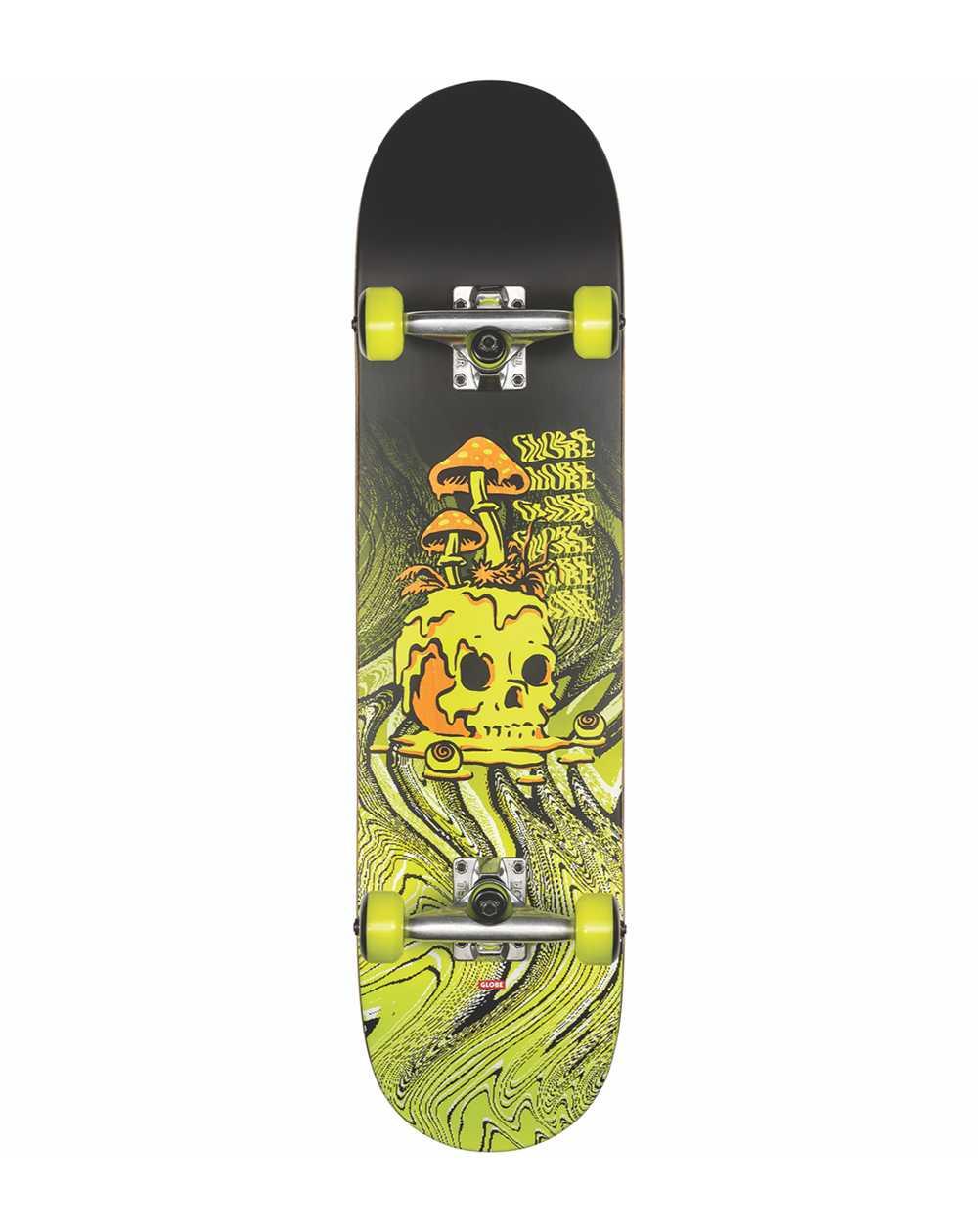 "Globe Skateboard Complète G1 Nature Walk 8.125"" Black/Toxic Yellow"