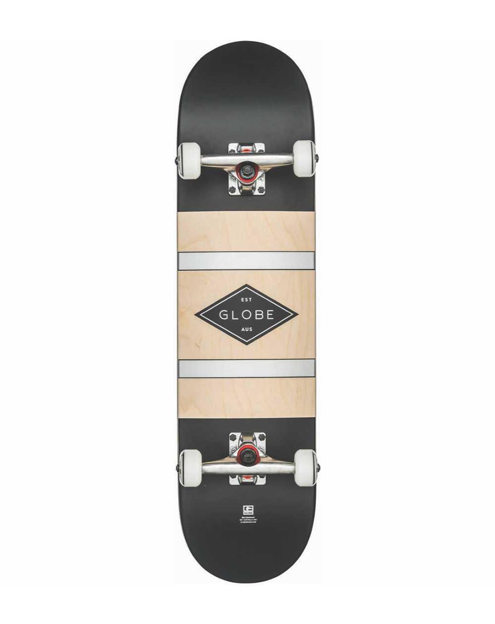 """Globe Skateboard G1 Diablo 2 8.00"""" Black/Silver"""