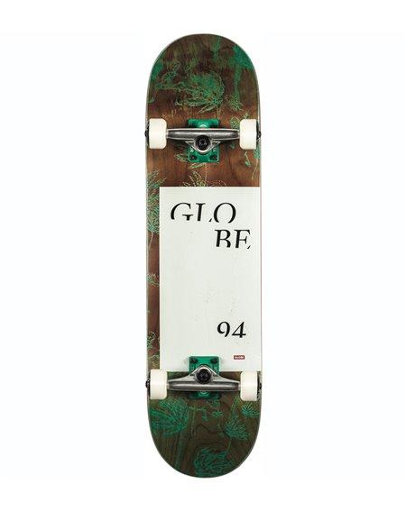 "Globe G2 Typhoon 8.125"" Complete Skateboard Green"
