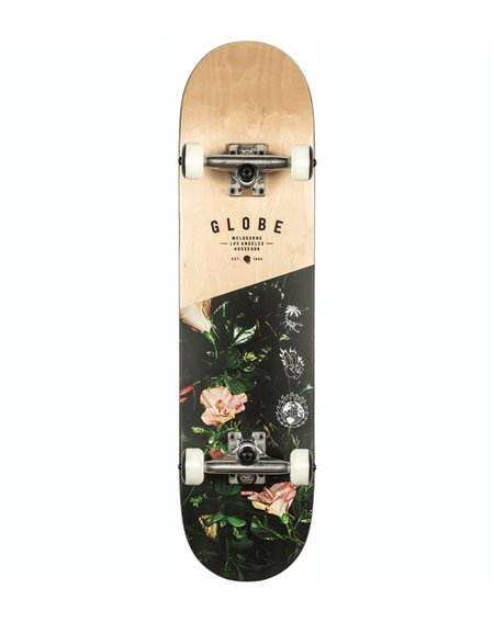 "Globe G1 Insignia 7.75"" Complete Skateboard Maple/Thornbush"