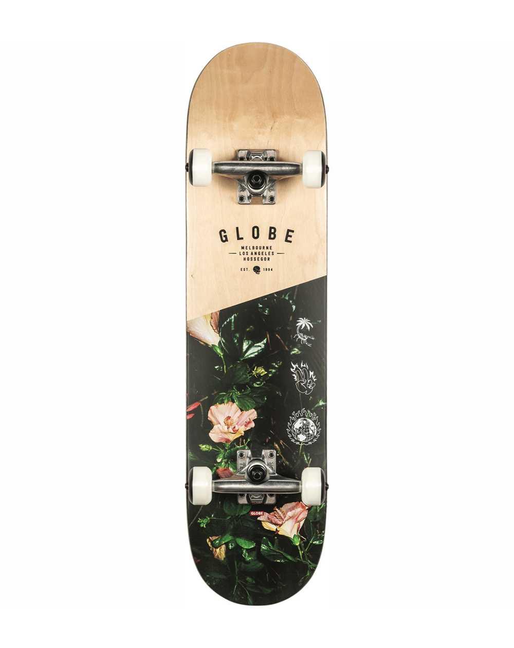 "Globe Skateboard Complète G1 Insignia 7.75"" Maple/Thornbush"