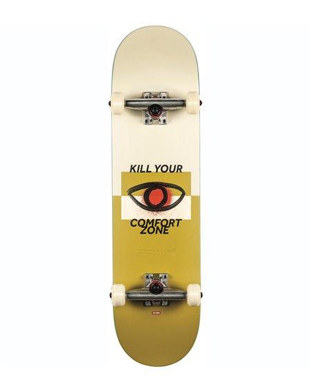 "Globe G1 Comfort Zone 8.125"" Complete Skateboard COF/Curry"