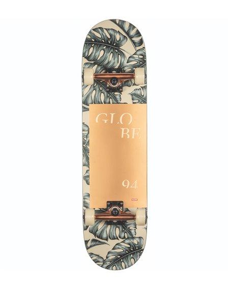 "Globe G2 Mod Log 8.25"" Complete Skateboard Hurricane Leaves"