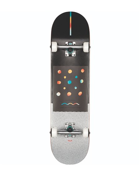 """Globe G1 Nine Dot Four 8.00"""" Complete Skateboard Black/White"""