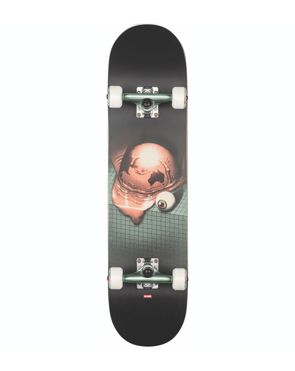 """Globe G2 On the Brink 7.75"""" Complete Skateboard Halfway There"""