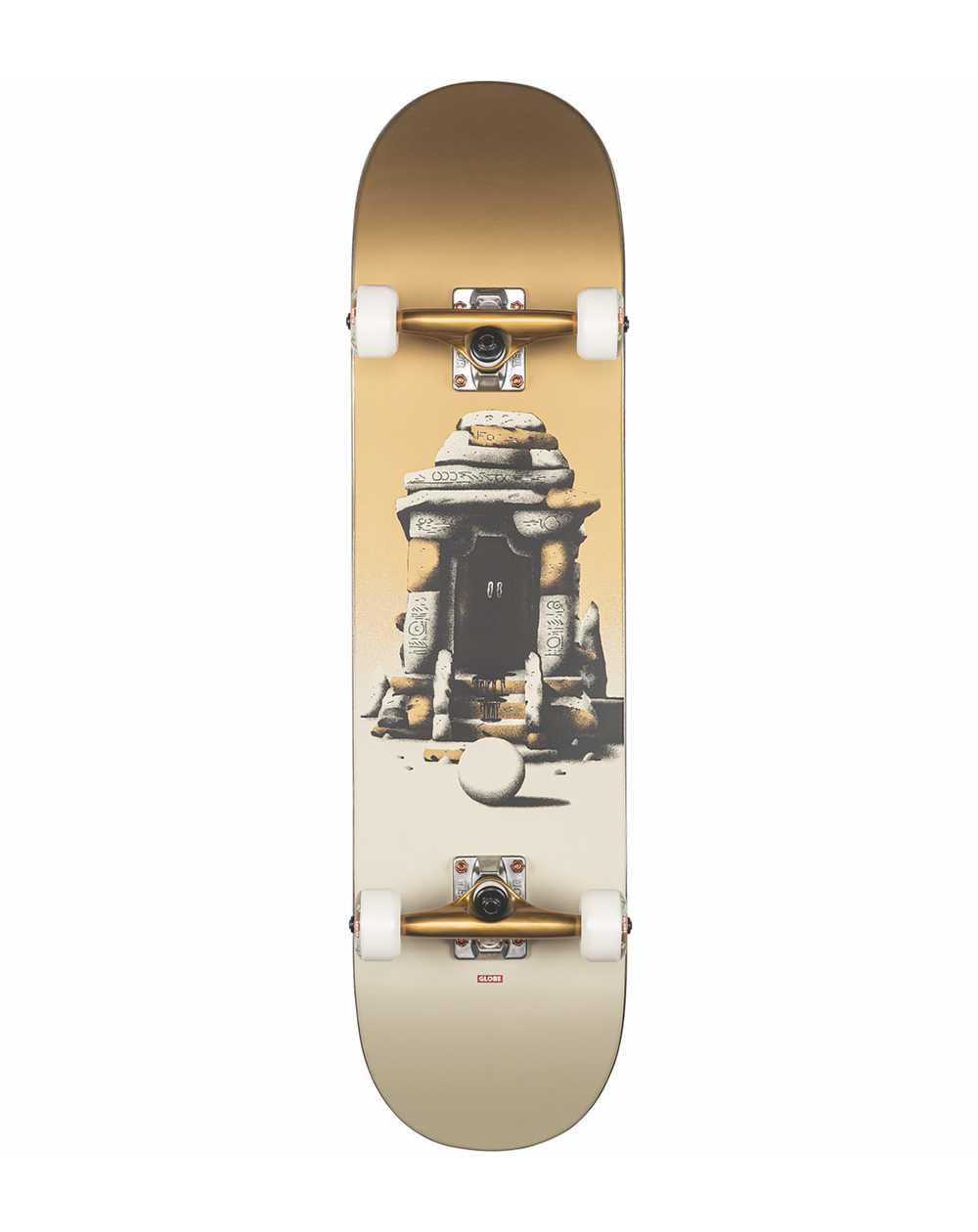 """Globe G2 On the Brink 8.00"""" Complete Skateboard Shelter"""