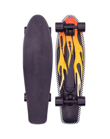 Penny Skateboard Cruiser Open Road Flame 27""