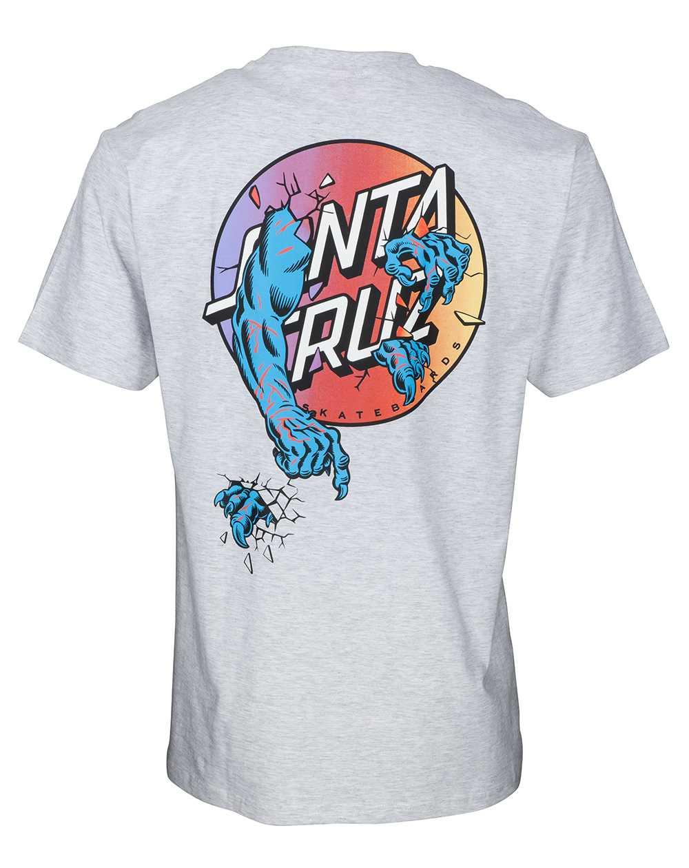 Santa Cruz Rob Dot 2 Camiseta para Homem Athletic Heather
