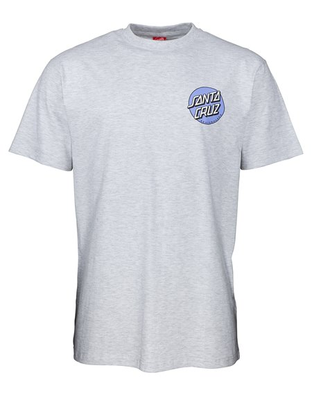 Santa Cruz Men's T-Shirt Rob Dot 2 Athletic Heather