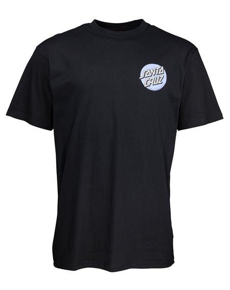 Santa Cruz Rob Dot 2 Camiseta para Homem Black