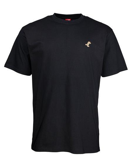 Santa Cruz Missing Dot T-Shirt Homme Black
