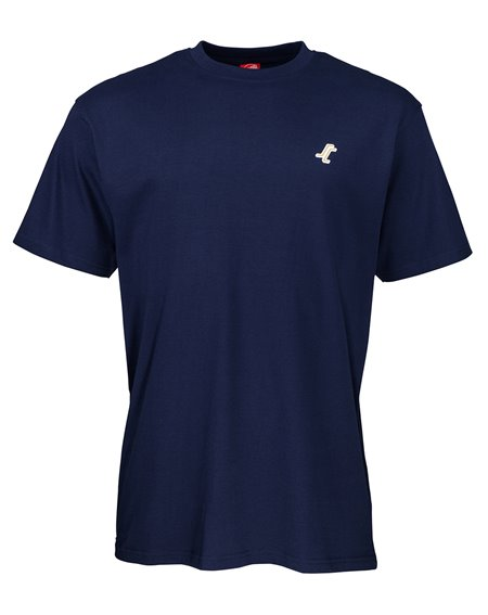 Santa Cruz Men's T-Shirt Missing Dot Dark Navy