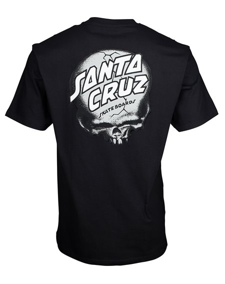 Santa Cruz O'Brien Skull T-Shirt Homme Black