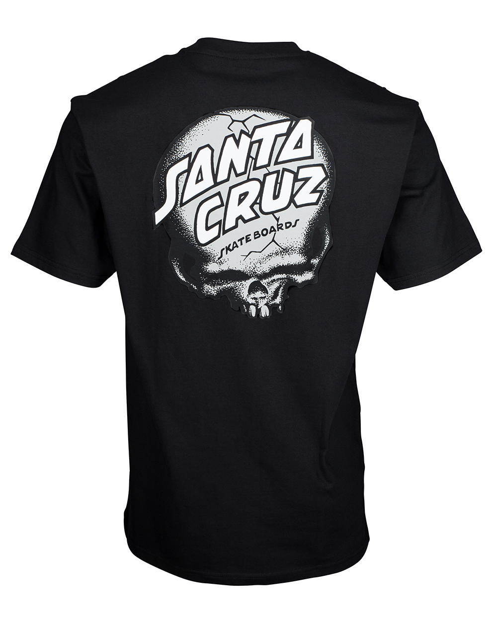 Santa Cruz O'Brien Skull T-Shirt Uomo Black