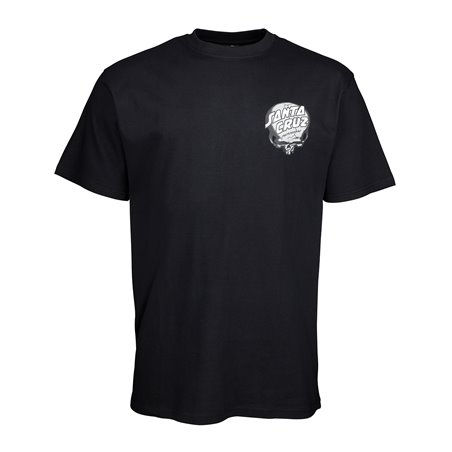 Santa Cruz Men's T-Shirt O'Brien Skull Black