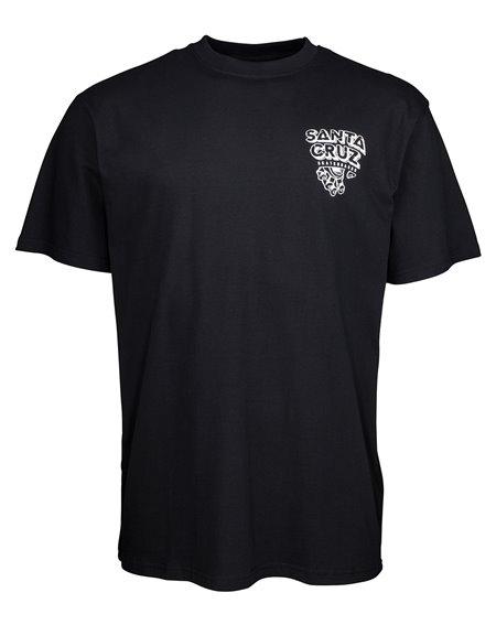 Santa Cruz Inherit T-Shirt Uomo Black