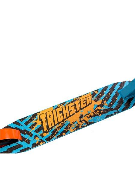Street Surfing Trickster Boys Stunt Scooter Blue/Orange