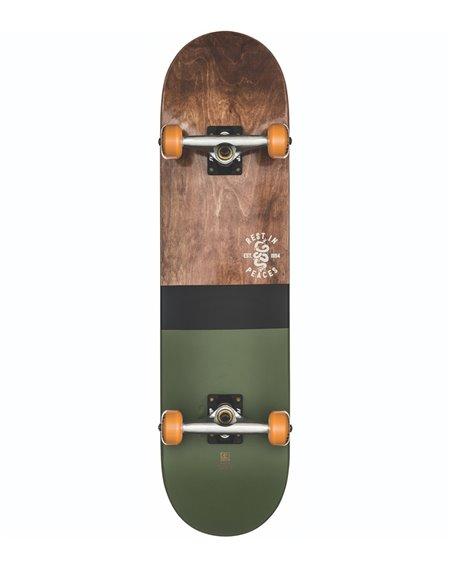 "Globe G2 Half Dip 2 8.00"" Complete Skateboard Dark Maple/Hunter Green"