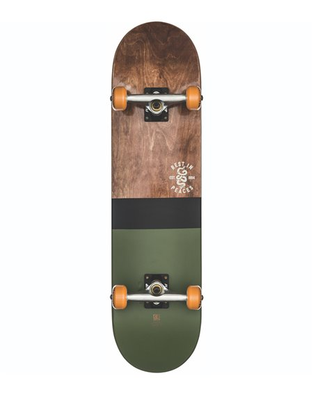 "Globe Skateboard G2 Half Dip 2 8.00"" Dark Maple/Hunter Green"