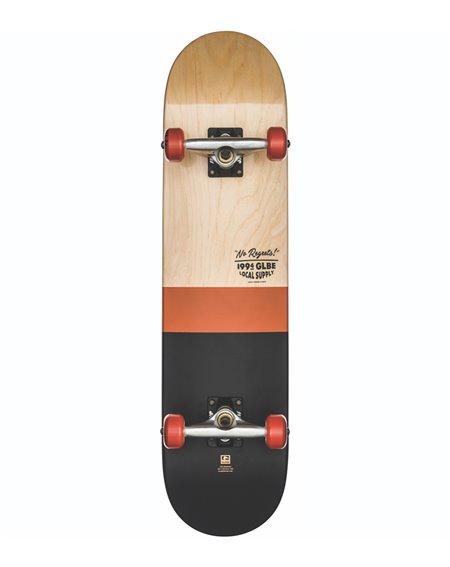 "Globe G2 Half Dip 2 7.75"" Complete Skateboard Natural/Rust"