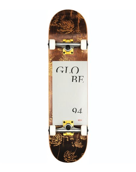 "Globe Skateboard Complète G2 Typhoon 8.00"" Yellow"
