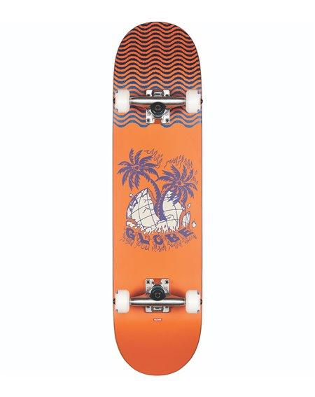 "Globe Skate Montado G1 Overgrown 7.875"" Orange"