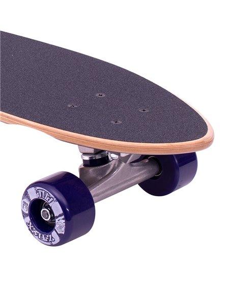 "Z-Flex P.O.P. 27"" Skateboard Cruiser Purple Fade"
