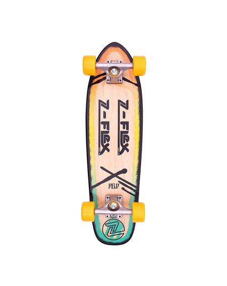 "Z-Flex Skateboard Cruiser P.O.P. 27"" Rasta"