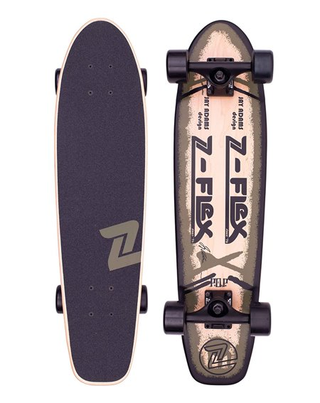 Z-Flex P.O.P. Skateboard Cruiser Olive