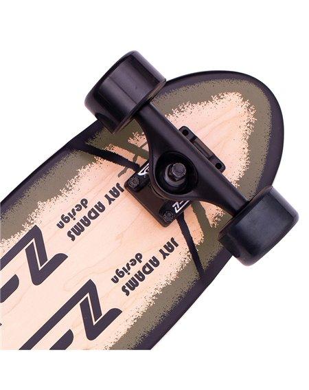 Z-Flex Skateboard Cruiser P.O.P. Olive