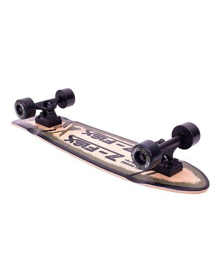 P.O.P. Skateboard Cruiser Olive