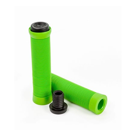 Slamm Scooters Pro Bar Scooter Grips Green pack of 2