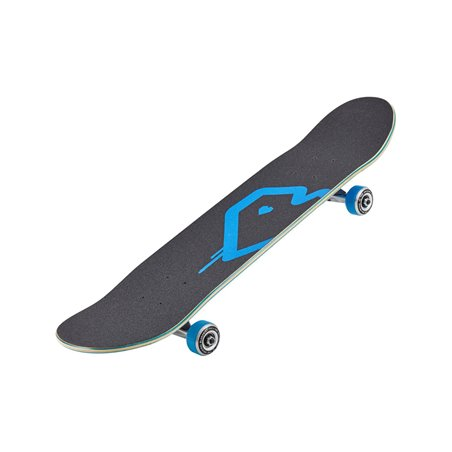 "Blueprint Spray Heart V2 8.25"" Complete Skateboard Blue/Silver"