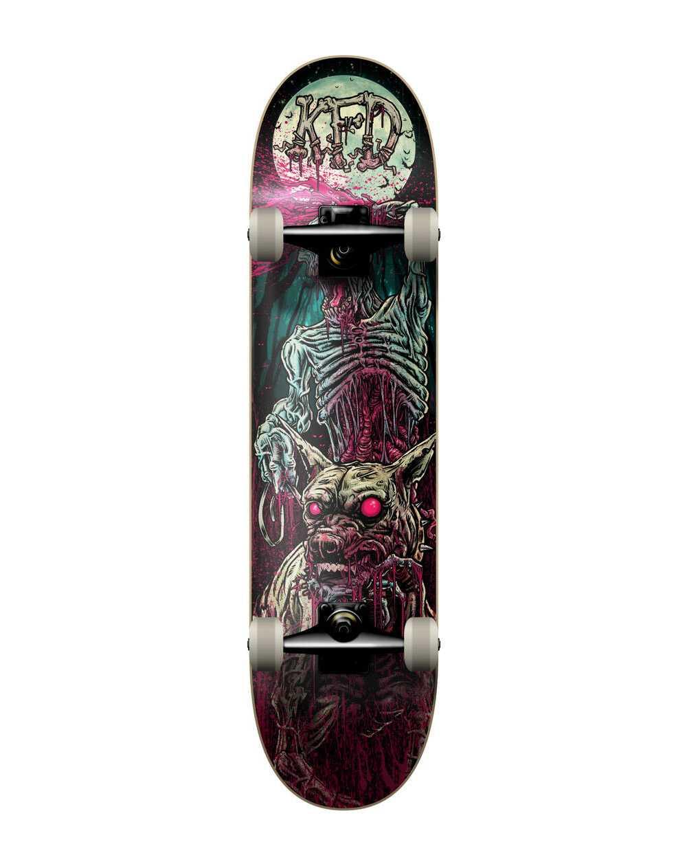 "KFD Young Gunz 8.00"" Complete Skateboard Patrol Zombie"