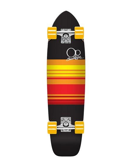 """Ocean Pacific Skate Cruiser Swell 31"""" Black/Orange"""