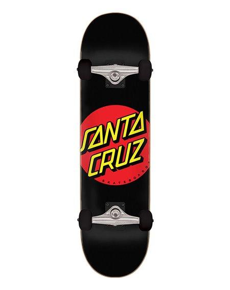 "Santa Cruz Classic Dot Full 8.00"" Komplett-Skateboard Black"