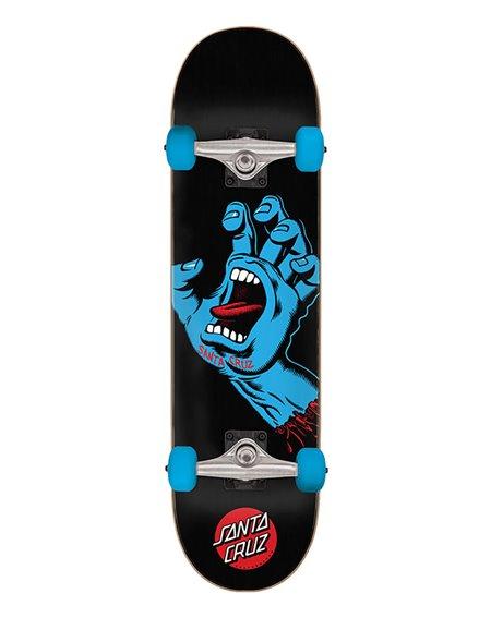 "Santa Cruz Skate Montado Screaming Hand Full 8.00"" Black"