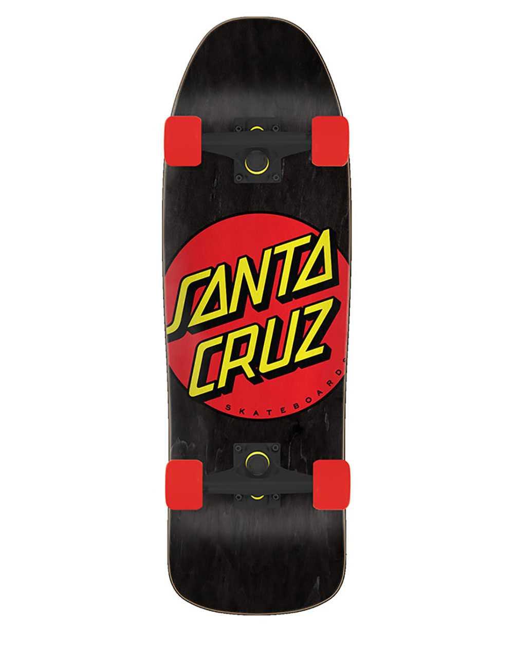 Santa Cruz Classic Dot Skateboard Cruiser
