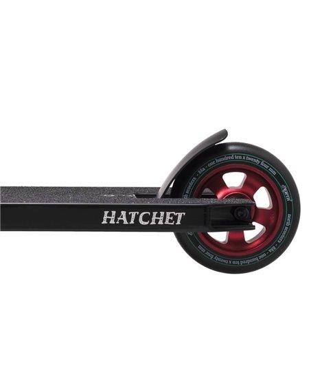 North Scooters Monopattino Freestyle Hatchet 2020 Black/Wine Red